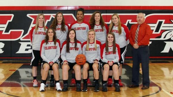 Clinton Girls Varsity Basketball Team 2016-17