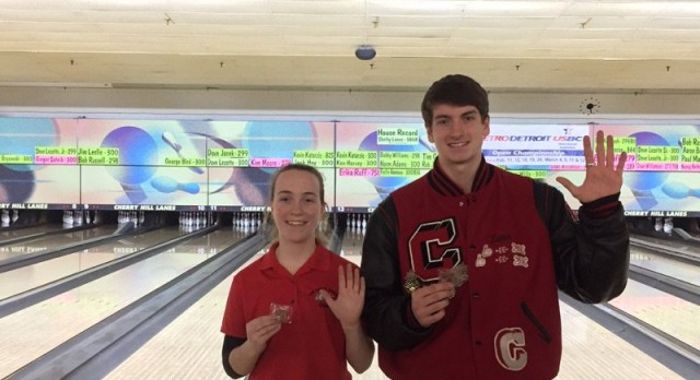 Bowling Has Two Compete at Individual State Finals