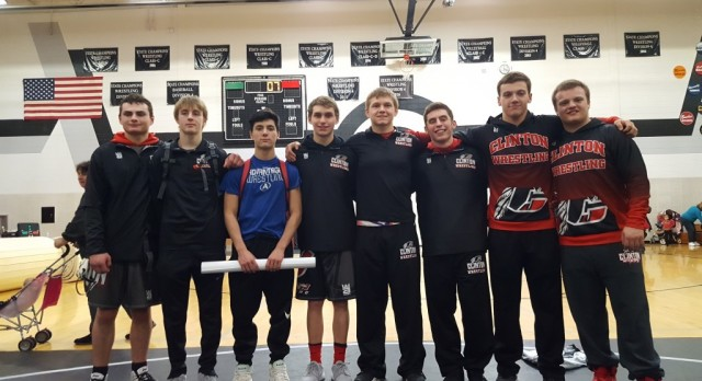 Varsity Wrestling Sets a School Record by Qualifying 8 To the Individual State Championships at The Palace