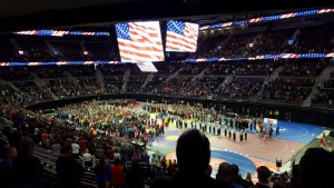 Grand March National Anthem 2017