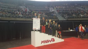 Noah Comar State Champ Podium 2017