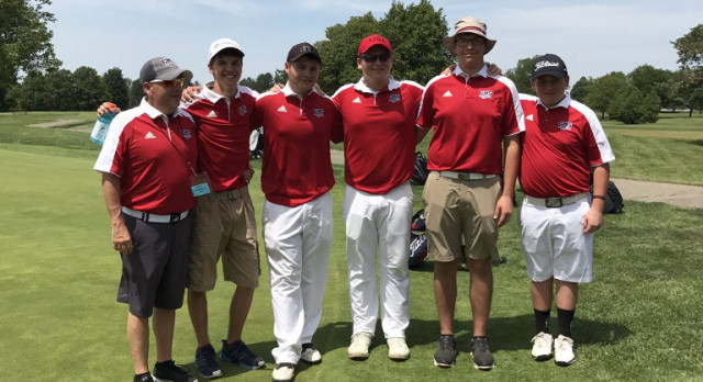 Boys Varsity Golf finishes 6th at State Championships – Fauser Wins Individual State Title
