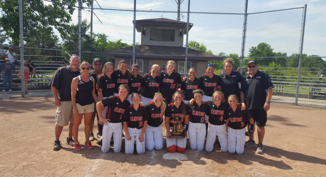 Varsity Softball Defeated Onsted 3-0 for The District Championship