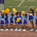 Cheer team at the St. Aug vs. Scotlandville Game
