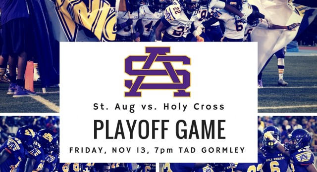First NBC Bank Prep Showcase features St. Augustine-Holy Cross playoff matchup this week