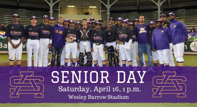 Purple Knight Baseball Senior Day: April 16