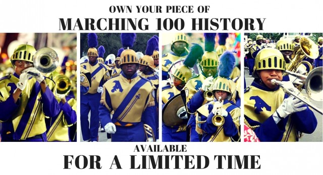 Helmet Sale Supports Marching 100 & Music Education