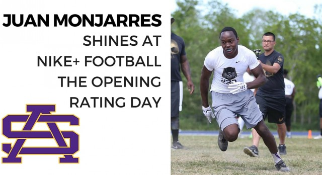 Honor Student Juan Monjarres Shines at The Opening Regional