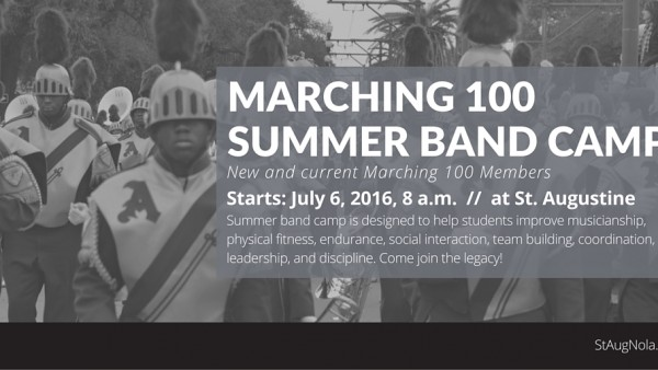 MARCHING 100Summer Band camp (1)