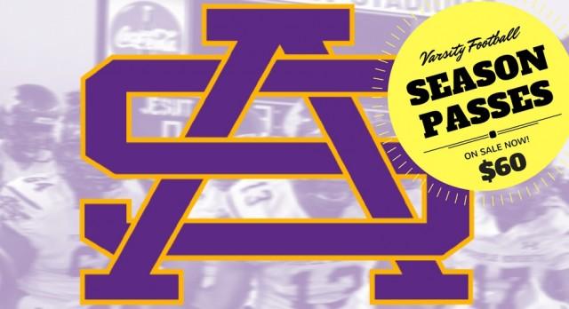 Varsity Football Season Passes – On Sale Now!