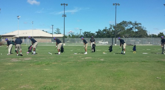 The St. Aug Golf Team Swings into Season