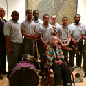 St. Aug Second Line Band & Leah Chase help celebrate new exhibition at NOMA