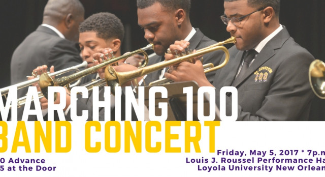 Get your Tickets now! St. Aug Spring Band Concert