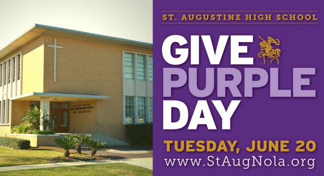 Give Purple Day is June 20!