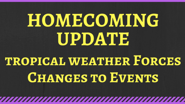 Homecoming Events Change T