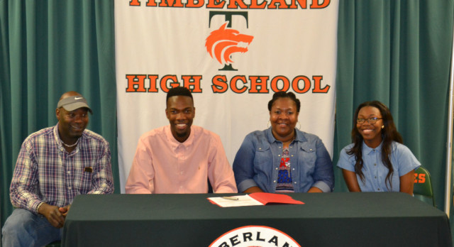 Timberland Basketball Standout signs with Catawba College