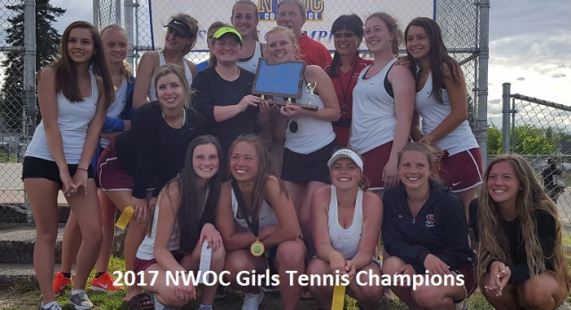 Girls NWOC District Tennis Champions