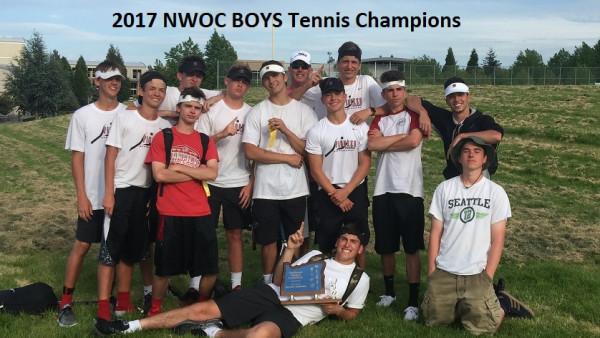 Boys Tennis Champions