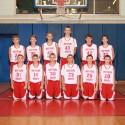 2015-2016 8th Grade Basketball Team