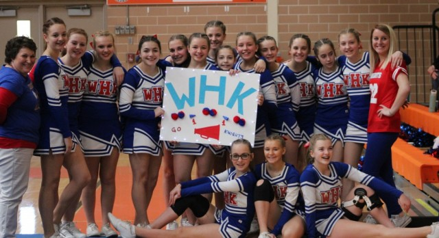 Middle School Cheer Team Places First at Ashland