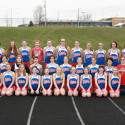 2017 Middle School Girls Track Team