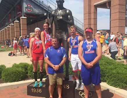 State Track & Field Placers