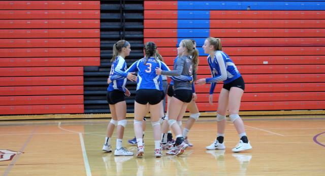 West Holmes High School Girls Varsity Volleyball beat vs 												Mount Vernon HS 3-0