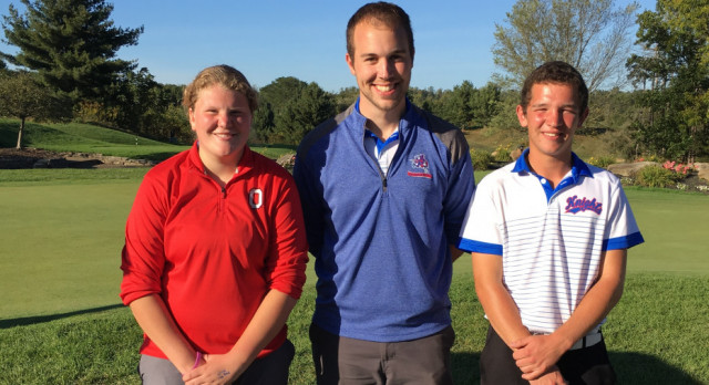 Yoder, Zeigler Advance to Golf Districts