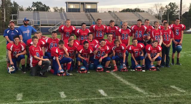 8th Grade Football Repeats as OCC Champions
