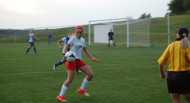 Girls Soccer Defeats Philo 2-0 in Tournament Opener