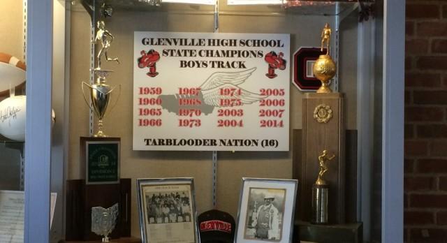 Glenville Boys Track Program Display At OHSAA
