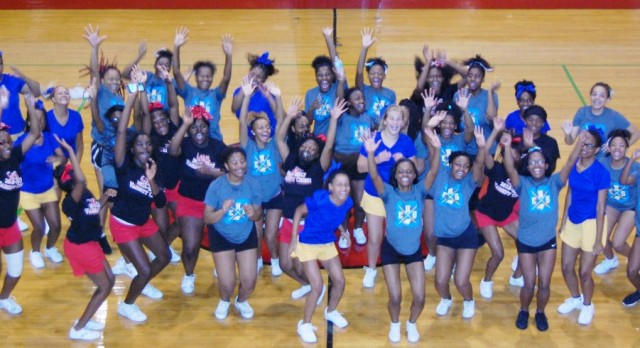 Tarblooders Host Cheer Camp
