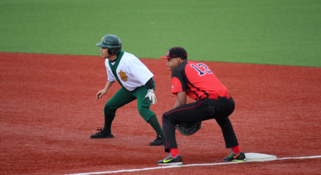 Baseball Plays First Game