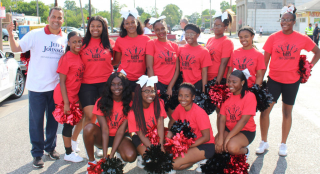 Glenville Cheerleaders March