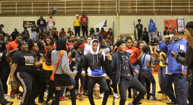 Glenville PEP Rally