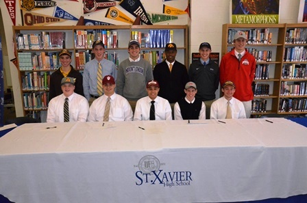 Winter Signing Day at St. X