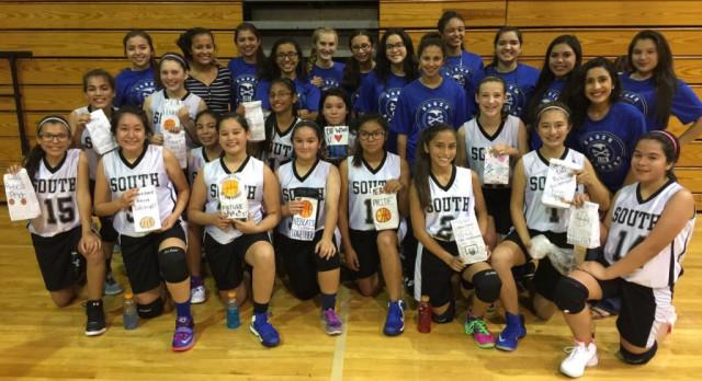 Big Sister Lil Sister Program Girls Basketball
