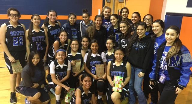 Junior High Night Girls Basketball Program at RVHS