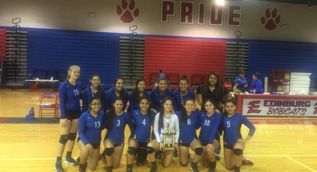 Lady SaberCat Volleyball JV Dark takes 2nd Place