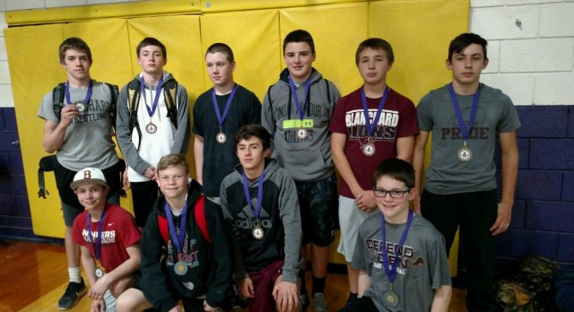 JH Powerlifting State Meet Results – 10 Total Medalists