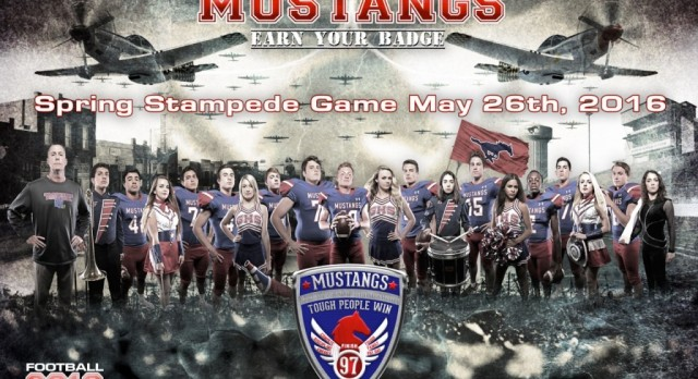 A new partnership has been formed, Fotosport and GHS Mustang Football!
