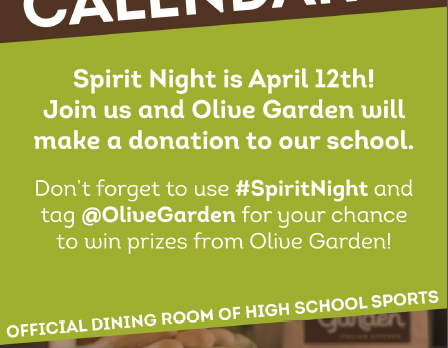 Olive Garden Spirit Night