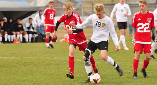 Wasatch High School Boys Varsity Soccer beat Spanish Fork High School 7-1