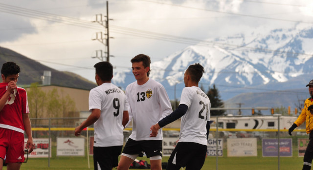 Wasatch High School Boys Varsity Soccer falls to Maple Mountain High School 3-0