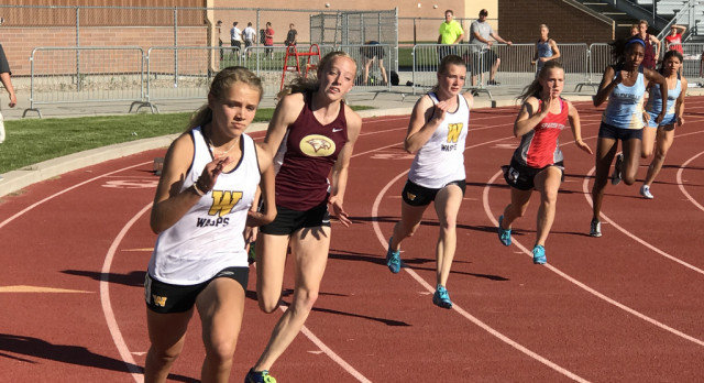 Track & Field Performs well at Region