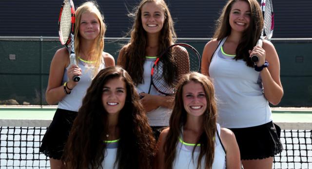 Girls Tennis Dominates Skyridge
