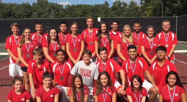 Tiger Tennis Earns 15 All District Honors