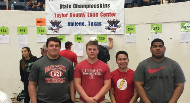 Belton Tiger Powerlifting finishes strong at State