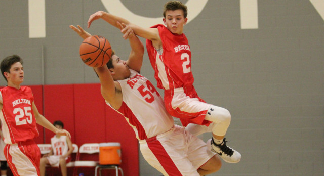 NBMS-SBMS boy's hoops featured high energy, big performances