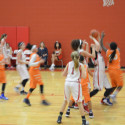 NBMS 7th grade girls vs. Bonham
